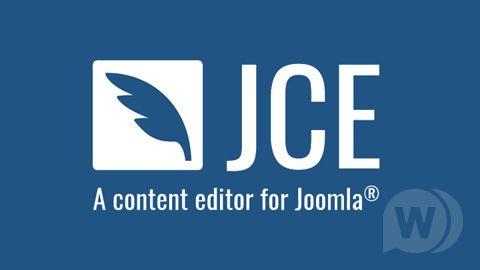 JCE Pro Content Editor + Plugins - visual editor for Joomla