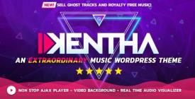 Kentha - Non-Stop Music WordPress Theme with Ajax Kentha + KenthaRadio