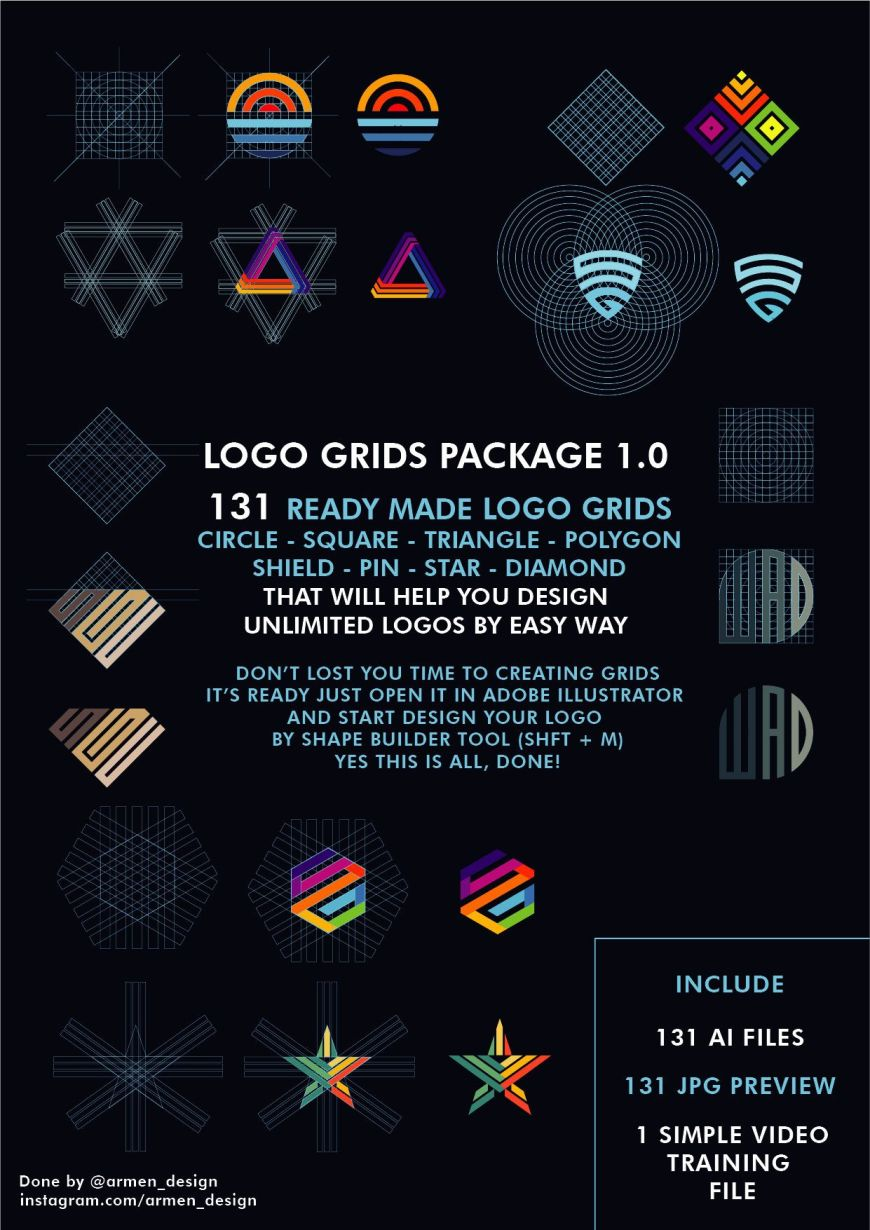 Logo grids package