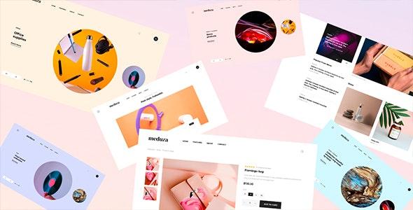 Meduza Template For Blog - Shop