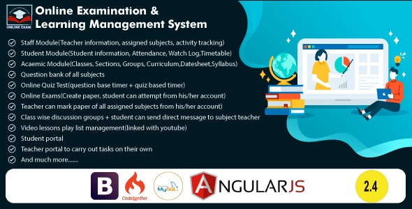 Online Exam and Learning Management System