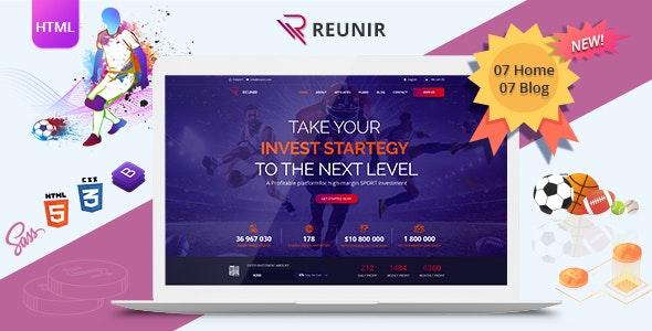Reunir - Sports Investment Templates