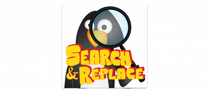 Search - Replace for Joomla