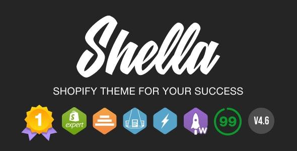 Shella - Multipurpose Shopify Theme. Fast