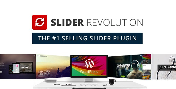 Slider Revolution Mega Pack (Plugin + Addons + Templates)