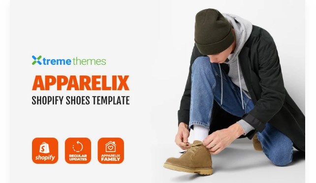 TM Apparelix Shoes Store Design Shopify Theme