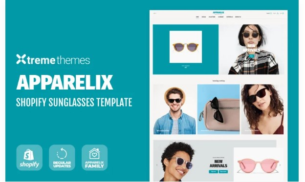 TM Sunglasses Store on Shopify Shopify Theme