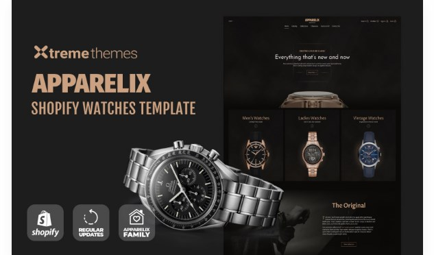 TM Watches Store Website Template Shopify Theme