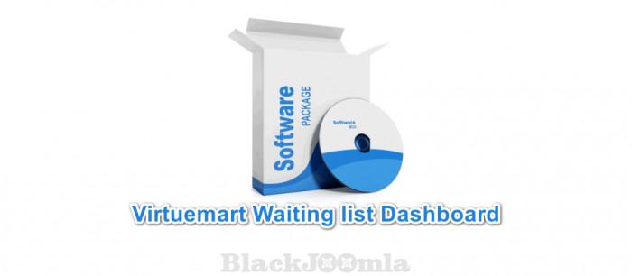 Virtuemart Waiting list Dashboard