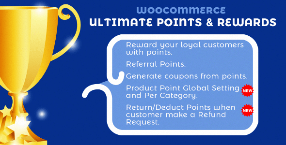 WooCommerce Ultimate Points and Rewards