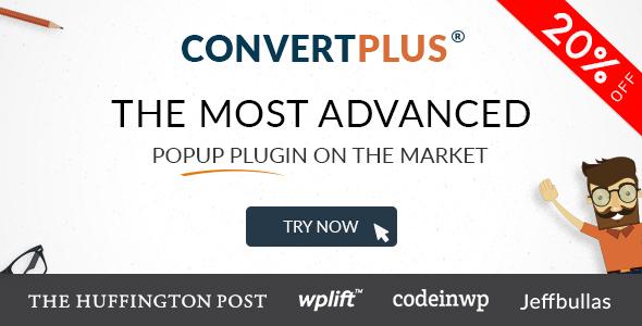 ConvertPlus - Popup Plugin For WordPress GPL