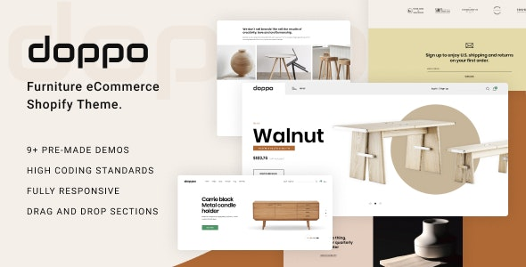 Doppo - Furniture Multipurpose Shopify Theme