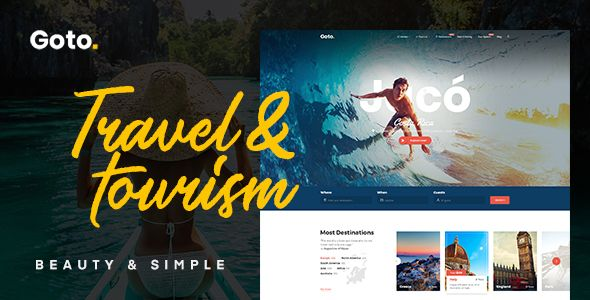 Goto - Tour - Travel WordPress Theme