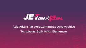 JetSmartFilters for Elementor WordPress Plugin