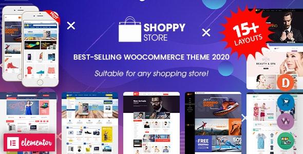 ShoppyStore - Multipurpose Responsive WooCommerce WordPress