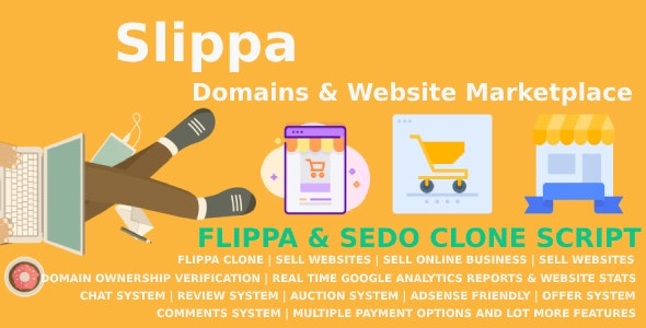Slippa - Domains - Website Marketplace PHP Script