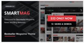 SmartMag - Responsive - Retina WordPress Magazine