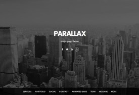 Themify Parallax WordPress Theme
