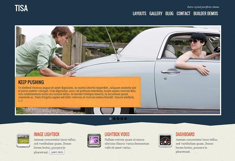Themify Tisa WordPress Theme