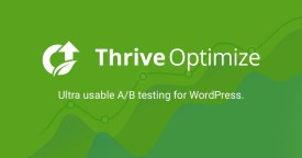 Thrive Optimize - Best A V Test Plugin for WordPress