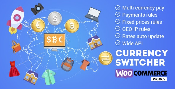 WOOCS - WooCommerce Currency Switcher