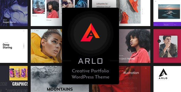 Arlo - Portfolio WordPress Theme