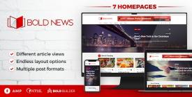 Bold News - WordPress Magazine - Newspaper Theme