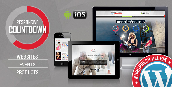 CountDown Pro WP Plugin - WebSites/Products/Offers