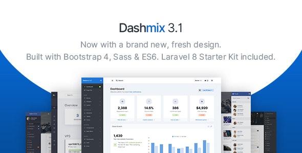 Dashmix - Bootstrap Admin Dashboard Template - Laravel Starter Kit