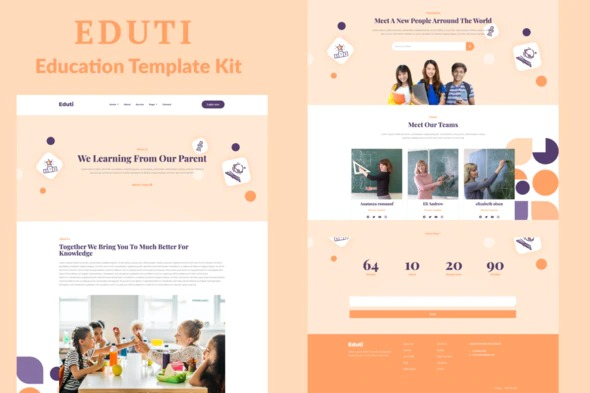 Eduti - Education Elementor Template Kit