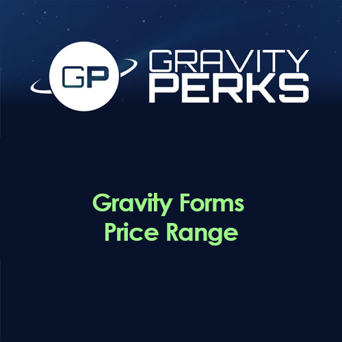 Gravity Perks - Gravity Forms Price Range