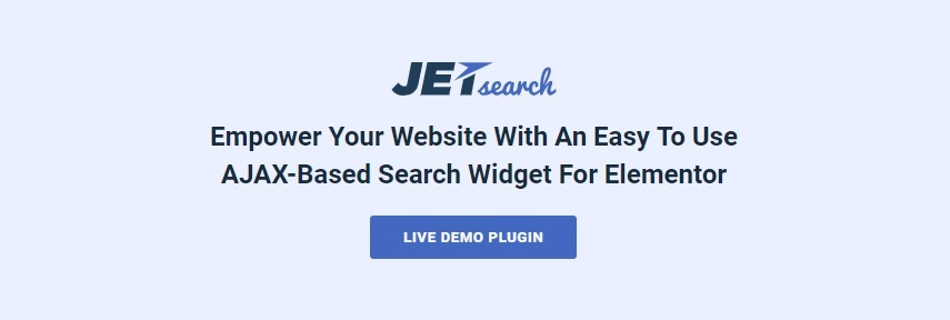 JetSearch Elementor Experience the true power of search functionality