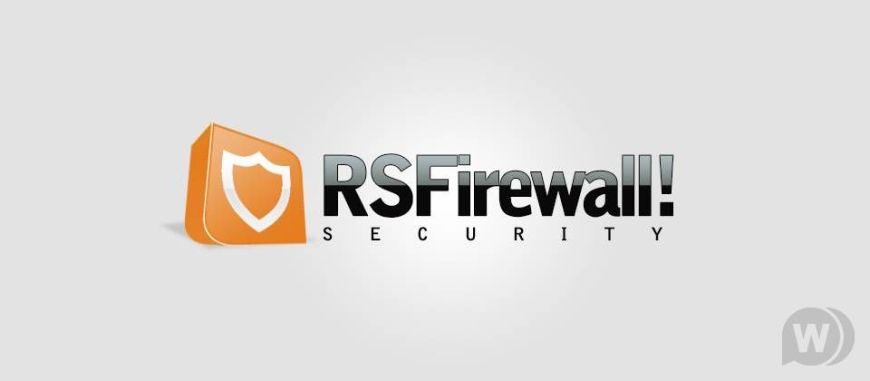 RSFirewall! - Joomla security component