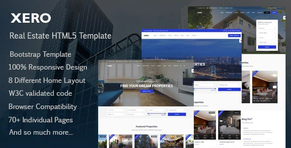 Xero - Real Estate HTML Template May
