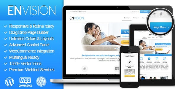Envision - Responsive Retina Multi - Purpose Theme