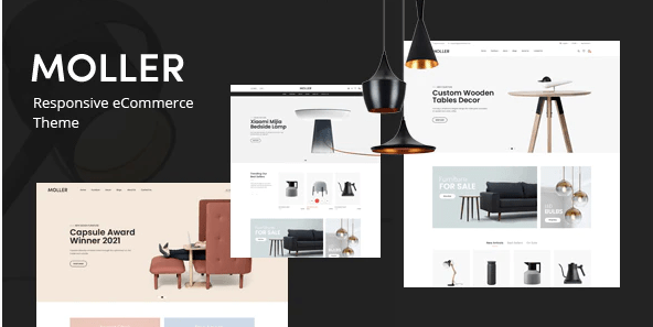 Moller - Furniture - Decor WooCommerce WordPress Theme