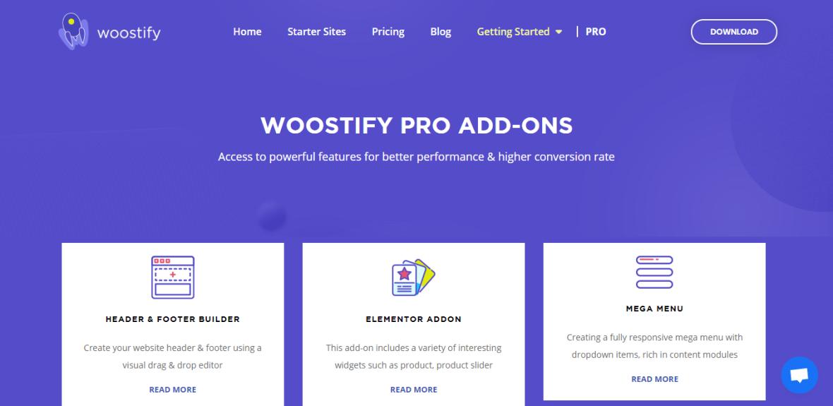 Woostify - Fast