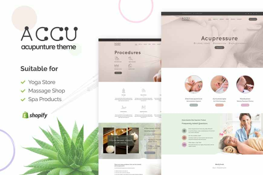 Accu   Shopify Medical Store