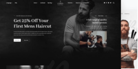 Ceres - special theme for barbershops and tattoo salonss