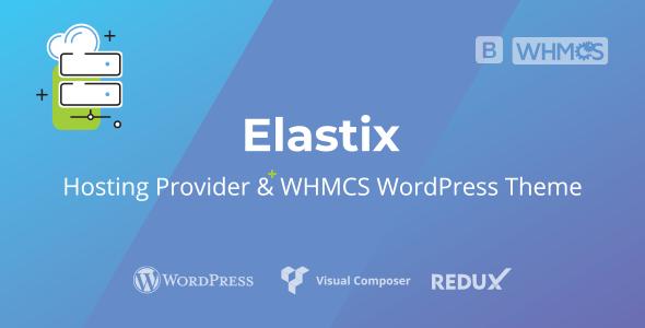 Elastix - Hosting Provider - WHMCS WordPress Theme
