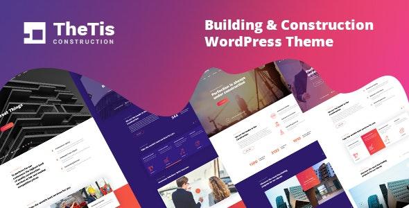 TheTis - Construction - Architecture WordPress Theme
