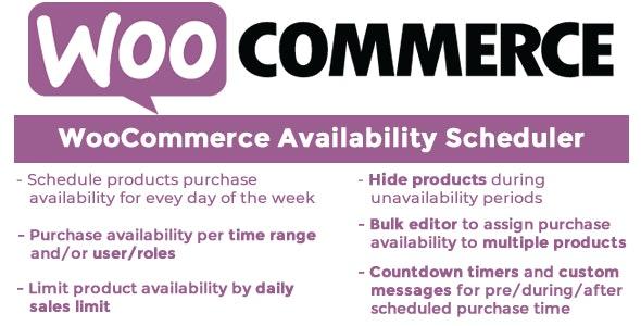 WooCommerce Availability Scheduler