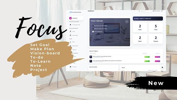 Focus - Productivity Management tool