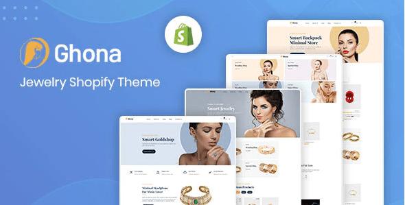 Ghona - Jewelry Shopify Theme