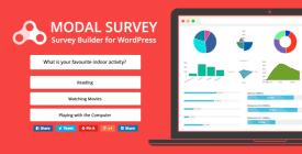 Modal Survey- Ranking Tables WordPress Poll