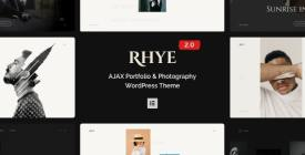 Rhye - AJAX Portfolio WordPress Theme