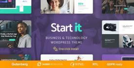 Start It - Technology - Startup WP Theme