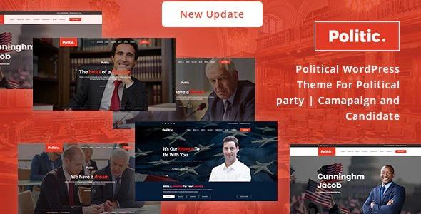 Politic - Political WordPress Theme