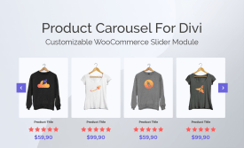 Product Carousel for Divi and WooCommerce