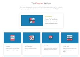 SiteOrigin Premium
